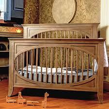 Oval Crib Mattress Milk Cameo Oval Crib Toast