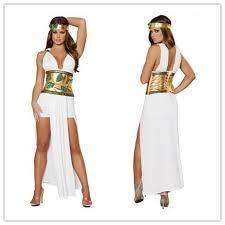 Halloween Costumes Goddess Greek Goddess Greek Goddess Egypt White Demon Dress