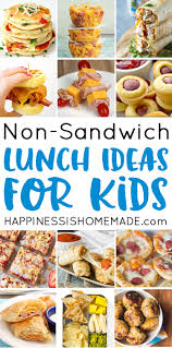 25 school lunch ideas for happiness is