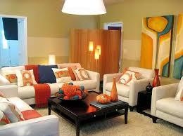 Best Salas Coloridas Images On Pinterest Living Room Ideas - Orange living room design