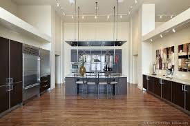 Modern Wooden Kitchen Designs Dark by Kitchen Idea Of The Day A Massive Modern Kitchen With Very High