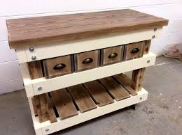 kitchen islands table reclaimed pallet kitchen island table