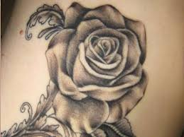 24 gothic rose tattoos and design ideas