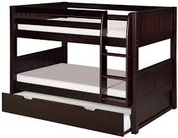 Bunk Beds  Twin Over Full Bunk Bed With Stairs Twin Loft Bed With - Queen and twin bunk bed
