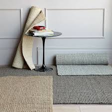 Pottery Barn Heathered Chenille Jute Rug Jute Boucle Rug Clay West Elm