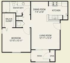 one bedroom floor plans small one bedroom apartment floor plans popular interior exterior