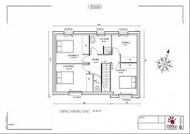plan maison etage 4 chambres 1 bureau plan maison etage 2 chambres luxury plan maison avec 2 chambres et