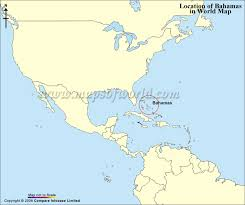 bahamas on a world map bahamas map