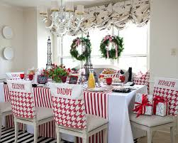 chairs exciting traditional kitchen christmas chair cover ideas