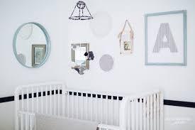 bunny nursery vintage modern grey and white bunny nursery