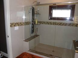 doorless shower designs great ideas for bathroom decoration with