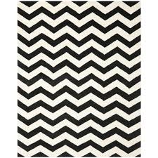 Black And White Zig Zag Rug Home Design Chevron Rugs Wayfair Black And White Rug Area World