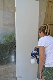 Spray Painting Interior Doors How To Paint Interior Doors The Power Of Paint Dark Painted
