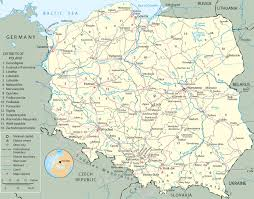 Europe Map With Rivers by Map Poland Travel Europe