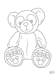 duffy bear coloring free printable coloring pages