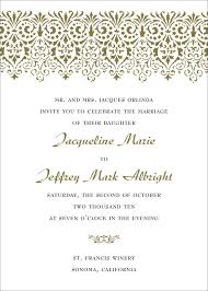 sample wedding invitation template 490 free wedding invitation