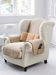 protège accoudoir canapé irelamb le protège fauteuil en vierge 50x150cm beige