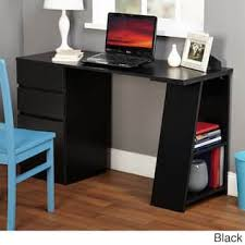 Black Home Office Desks Black Home Office Furniture For Less Overstock