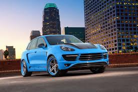 matte blue porsche topcar reveals baby blue cayenne topcar gtr 958 1 topcar