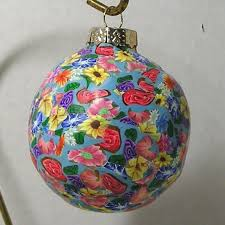 handmade polymer clay ornament crafts for holidays