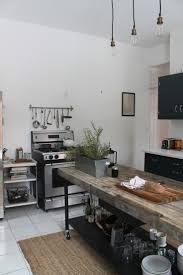 top industrial style kitchen with additional furniture home design