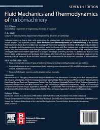 fluid mechanics and thermodynamics of turbomachinery amazon co uk