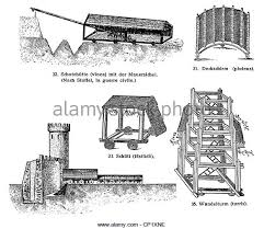 siege engines siege engines from the century bc stock photos siege engines