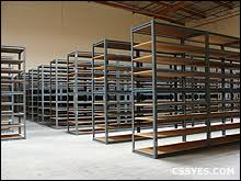 Industrial Shelving Units by Used Industrial Shelving Boltless Metal And Wire Shelving