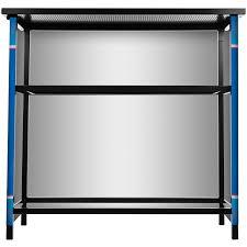 amazon com bud light two shelf portable bar with case sports