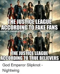 Justice League Meme - thejustice league according to fake fans justice league memes the