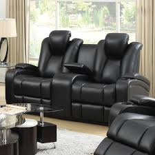 Loveseat Black Leather The Benefits Of Having Dual Reclining Loveseat Med Art Home
