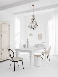 Best Dining Room Images On Pinterest Dining Room Live And - All white dining room