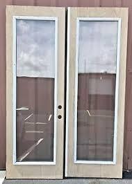 Double Glass Door by Door Glass Inserts Ebay