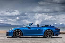 porsche blue sapphire blue carrera cabriolet gts