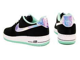black friday air force 1 nike air force 1 black shine silver green glow launches black