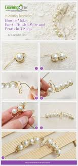 how to make ear cuffs diy ear ear cuffs tutorial giy glam it yourself