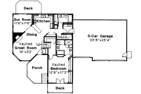 House Plans With Vaulted Great Room by Cape Cod House Plans Trenton 30 017 Associated Designs