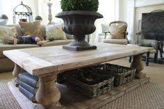 weathered pine coffee table inspire q edmaire rustic baluster weathered pine coffee table