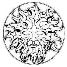 pix for u003e the green man drawing arts and crafts pinterest