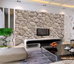 3d Wallpaper Interior Custom Modern Fashion 3d Wallpaper Mural Wild Natural Rock Stone