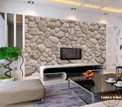 custom modern fashion 3d wallpaper mural wild natural rock stone