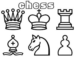 chess games coloring primary pages kids color coloring