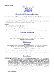Usa Jobs Resume Template Examples Of Resumes Example Resume Format For It Professional Cv