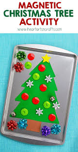 magnetic christmas tree activity christmas tree activities and