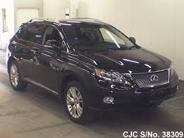 lexus used rx450h 2010 lexus rx 450h black for sale stock no 38309 japanese