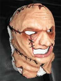 leatherface mask leatherface mask by dedmetal on deviantart