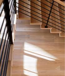 white oak stair treads and risers home design ideas and pictures