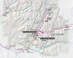 map of zion national park zion national park travel guide bearfoot theory