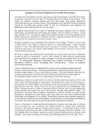 Resume Personal Statement by Resume Personal Statement Template Best Template Collection