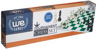 amazon com we games tournament chess set u2013 heavy weighted chess